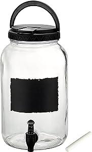 Artland Tailgate Beverage Dispenser, 1 gallon, Black