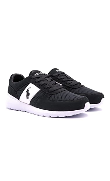 Ralph Lauren CORDELL-SK-ATH Sneakers Hombre D CAR/CAR 45: Amazon ...