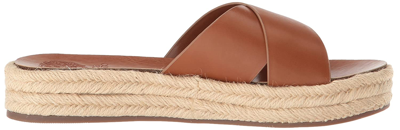 Vince Camuto Women's Carran Slide Sandal Cognac B075FQYHTF 6 B(M) US|Summer Cognac Sandal e6e084