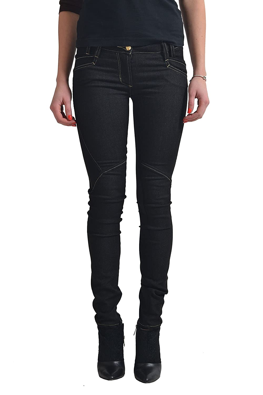 Just Cavalli Women's Dark Gray Stretch Casual Pants US 26 IT 40