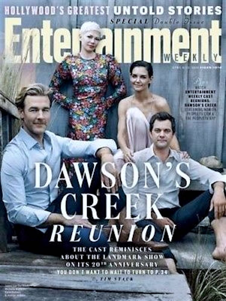 Download Entertainment Weekly April 6-13 2018 Dawson's Creek Reunion PDF