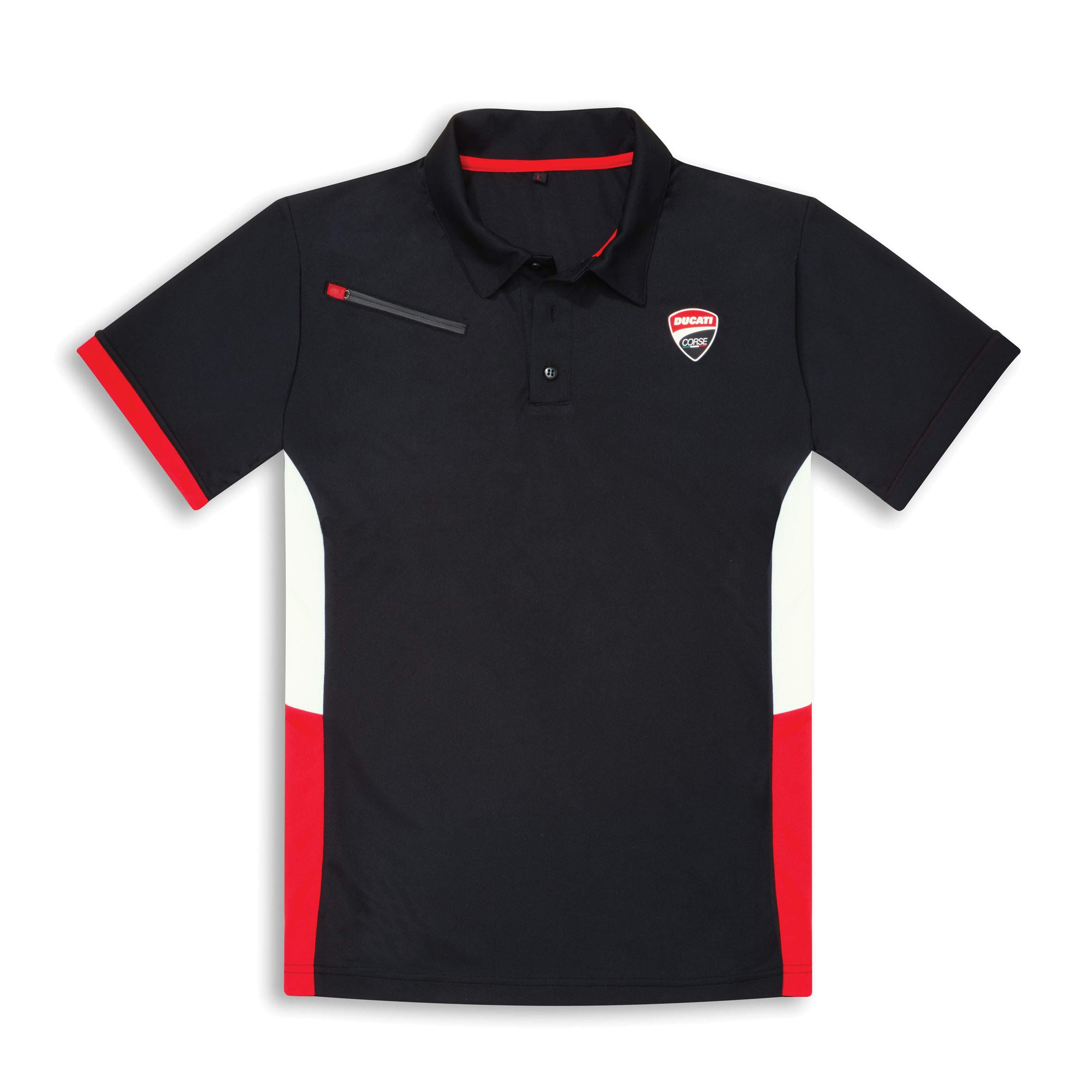 Ducati Corse DC19 Short Sleeve Polo Shirt (SM) by Ducati