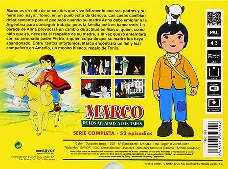 Marco - Serie Completa [DVD]: Amazon.es: Isao Takahata: Cine y ...