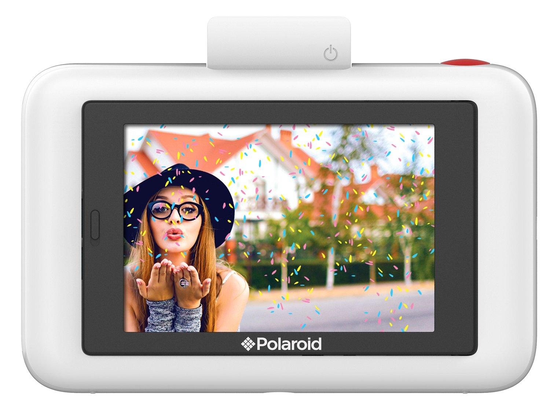 00c1d9bcda Polaroid Snap Touch - Cámara digital con impresión instantánea y pantalla  LCD con tecnología Zero Zink, blanco: Amazon.es: Electrónica