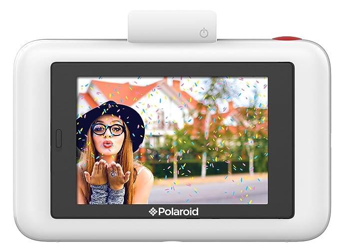 Polaroid SNAP Touch - Cámara digital con impresión instantánea y pantalla LCD (purpura) con tecnología Zero Zink + Polaroid Paper: Amazon.es: Electrónica
