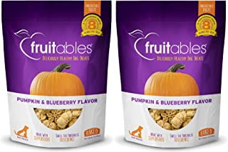 product image for Fruitables Crunchy Dog Treats,7 oz Pouch - 2 Pack
