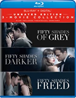 Fifty Shades 3 Movie Collection Blu Ray