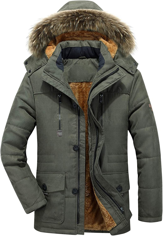 Parka Coats Mens Outerwear
