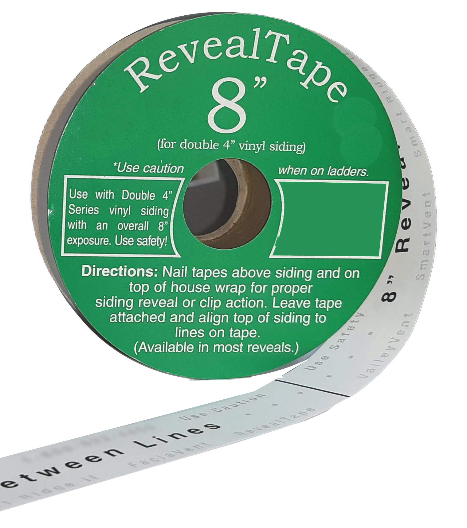 RevealTape by DCI 8'' reveal - Shingle Layout Tape by DCI Products