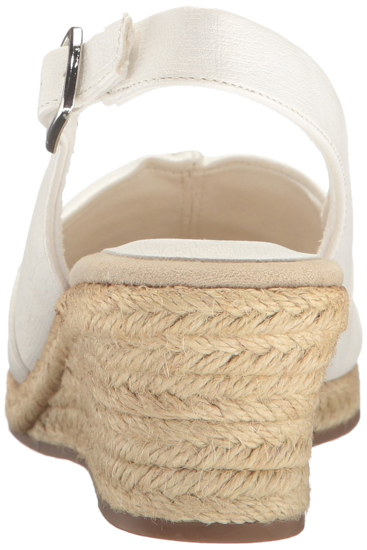 Easy Street Women's Kindly Espadrille Wedge Sandal B01N1LRL2Z 8 B(M) US|White Textured