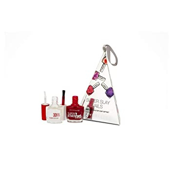 cdad7e856b9 Maybelline Super Slay Nail Gift Set for Her: Amazon.co.uk: Beauty
