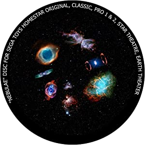 Nebulae - disc for Sega Toys Homestar Classic/Flux/Original Planetarium
