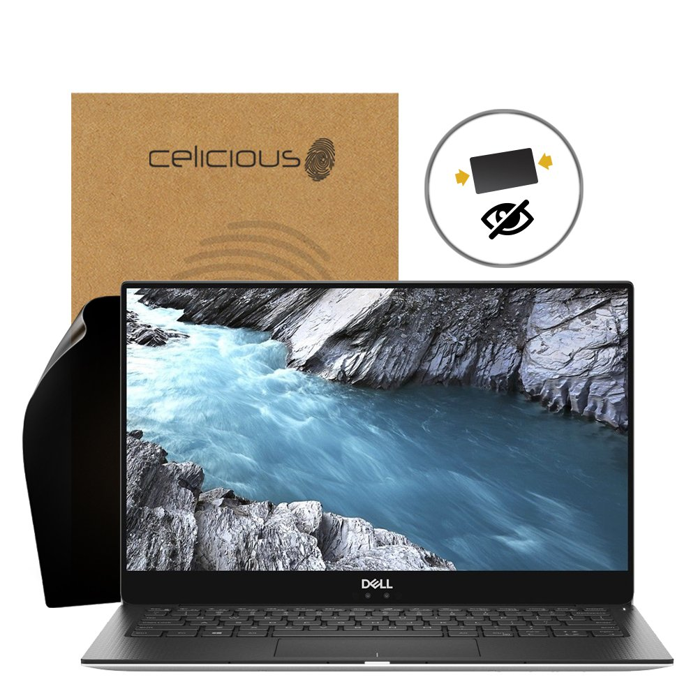 Celicious Privacy 2-Way Anti-Spy Filter Screen Protector Film Compatible with Dell XPS 13 9370 (Touch) by Celicious (Image #1)