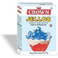 Crown Jellos (Gelatin) 200G - (50G X Pack Of 4, Total:200G)