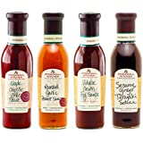 Stonewall Kitchen 4 Piece Classic Grille Sauce Collection