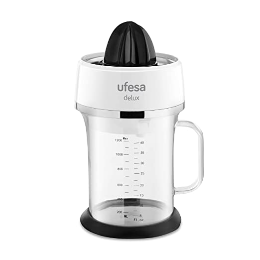 Ufesa EX4970 Delux - Exprimidor para zumo de cítricos. Depósito 1 ...