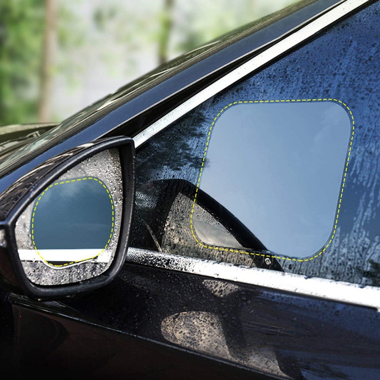Ba30dellylelly Auto Rückspiegel Regenschutzfolie Auto Rückspiegel Regenschutzfolie Regenwasserantrieb Hydrophobe Folie Wasserdichtes Filmpaar Auto