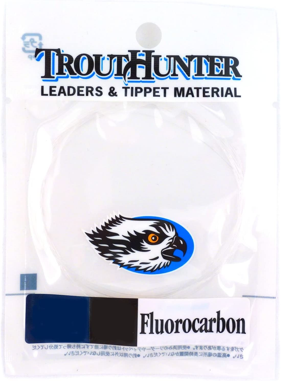 3 Pack 9 ft TroutHunter Fluorocarbon Leader