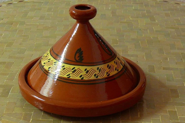 Marokkanische Tajine zum Kochen ø 35 cm für 4-5 Personen Marrakech Accessoires