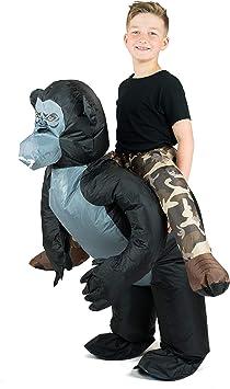 Bodysocks® Disfraz Hinchable de Gorila Niño: Amazon.es ...