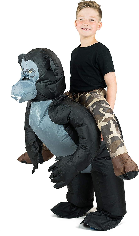 Bodysocks® Disfraz Hinchable de Gorila Niño