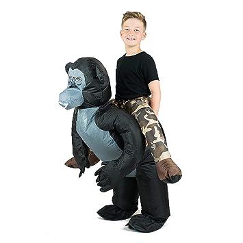 Bodysocks® Disfraz Hinchable de Gorila Niño: Amazon.es: Juguetes y ...