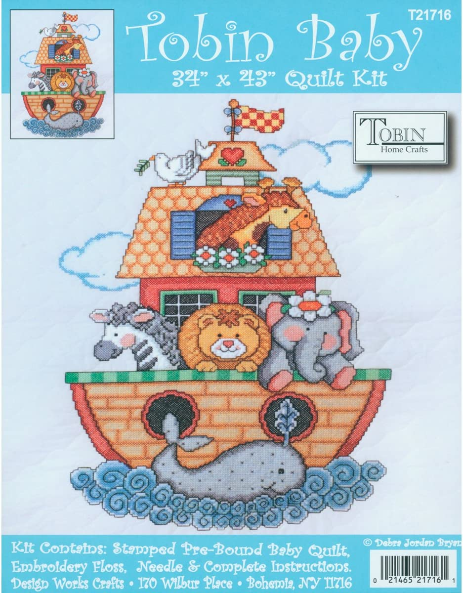 Sew By Number Miniatures Noahs Ark Animal Quilt Wall Hanging Pattern UNCUT NEW