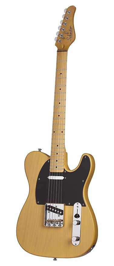 Guitarra eléctrica guitarra, californai, diseño vintage, Guitarra Rubio