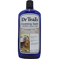 Dr. Teals Coconut Oil Foaming Bath, 34 Ounce