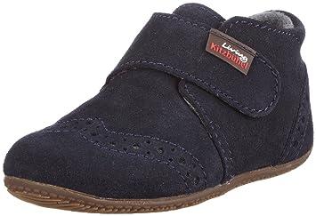 Babyklettschuh Velour 2012 - Zapatos para bebé para niños, color azul, talla 21 Living Kitzbühel
