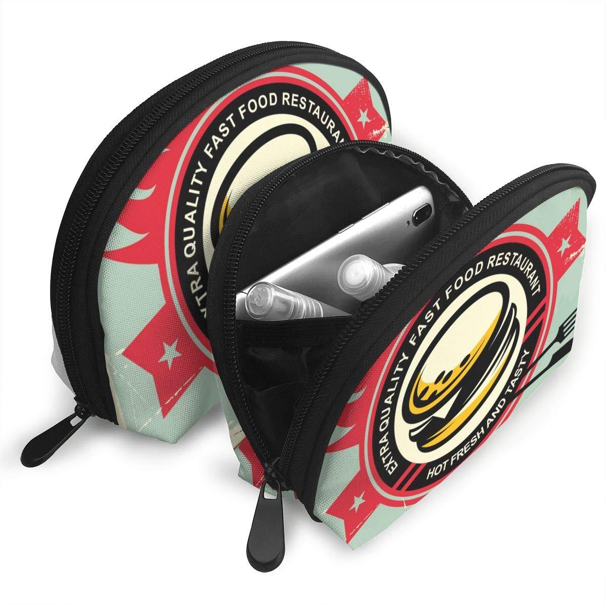 Amazon.com: Zimubbic Burgers - Bolsa de cosméticos portátil ...