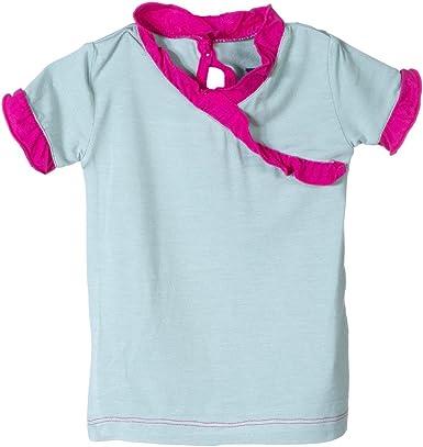 Kickee Pants Little Girls Short Sleeve Applique Puff Tee