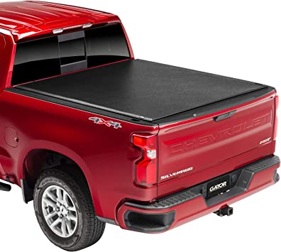 Amazon Com Gator Etx Soft Roll Up Truck Bed Tonneau Cover 53109 Fits 2014 2018 2019 Ltd Lgcy Gmc Sierra Chevrolet Silverado 1500 5 8 Bed Bed Automotive