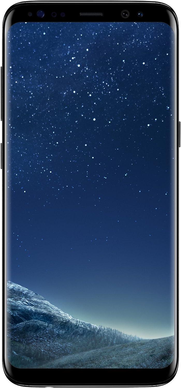 """Samsung Galaxy S8 - Smartphone da 5.8"""", 64 GB Espandibili, Nero (Midnight Black), [Versione Italiana]"""