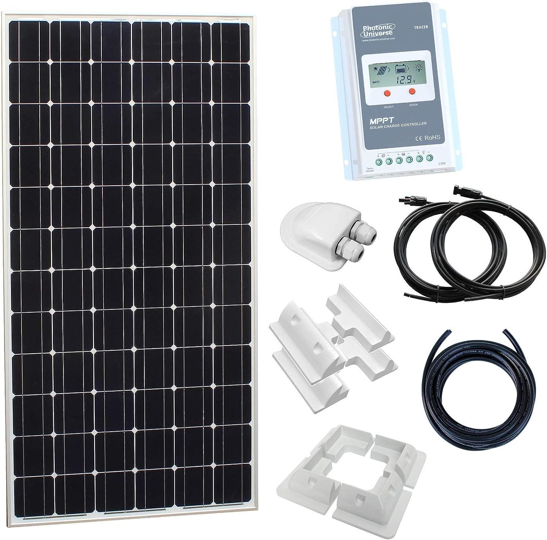 200w 12v MPPT Solar Battery Charger