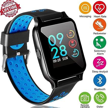 Amazon.com: ONMet Fitness Tracker Reloj inteligente para ...