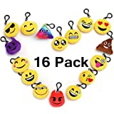 "Amazon Price History for:Emoji Keychain Party Favors For Kids, 16 Pack 2"" Mini Emoji Plush Pillows For Party Decorations, Kids Party Supplies Goody Bags Fillers"
