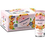 San Pellegrino Momenti Clementine & Peach Cans, 11.15 Fl Oz (24 Pack)