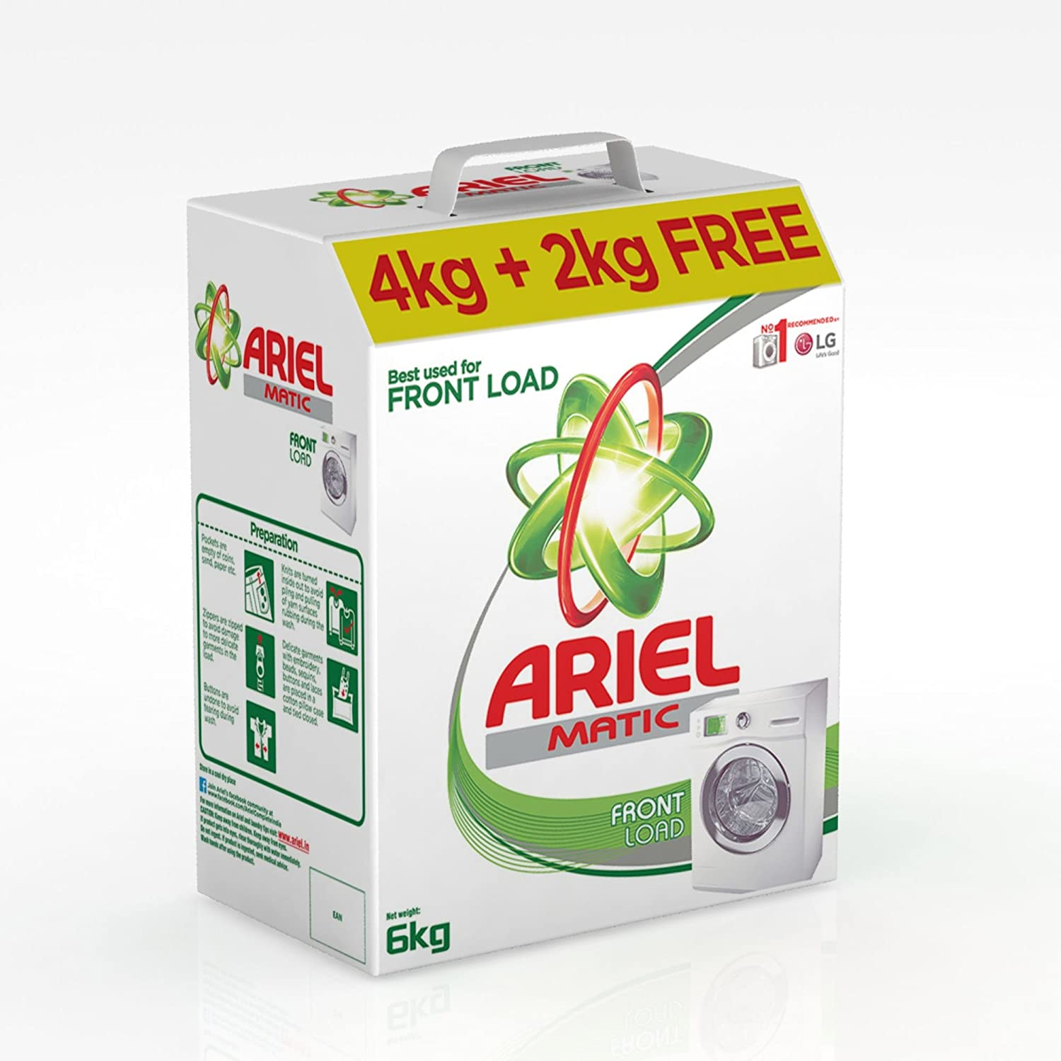 Ariel Matic Front Load Detergent Powder, 4kg