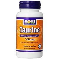 Taurine 500mg, 100 Capsules