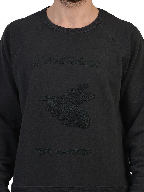 Gucci Hombre 408242X5c711285 Negro Algodon Sudadera: Amazon.es: Ropa y accesorios