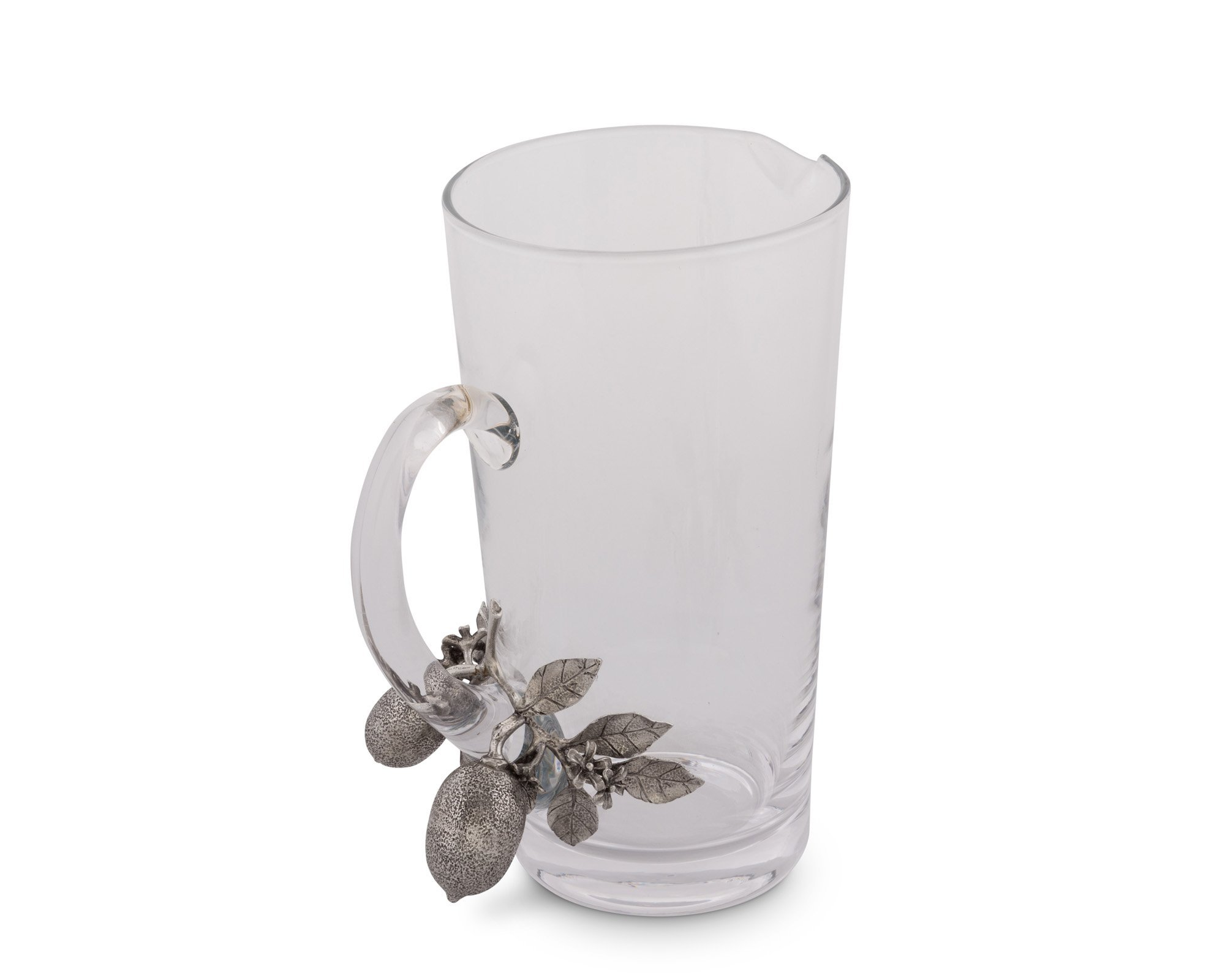 Vagabond House Glass and Pewter Lemon Bouquet Pitcher 9.5'' Tall by Vagabond House (Image #2)