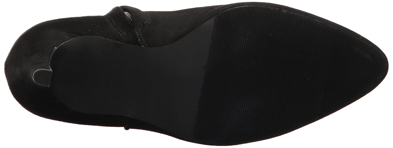 Madden Girl Women's Sally Ankle Bootie B071YYZYKT 7 B(M) US|Black Fabric