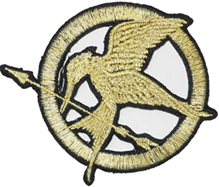 Hunger Games District 12 Embroidered Badge Patch Iron Or Sew On 9cm
