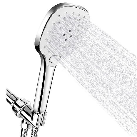 Amazon.com: FEELSO alcachofa de ducha de mano de alta ...