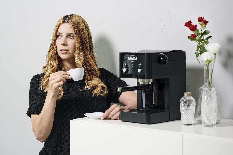 Gaggia RI8423/11 - Cafetera de espresso, color negro: Amazon.es: Hogar