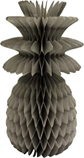 product image for 3-Pack Solid Colored 13 Inch Honeycomb Pineapple Party Decoration (Gray)