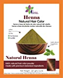 Revital - 100% Pure & Natural Henna Powder For Hair Dye / Color (0.5 lb), Henna Powder For Tattoo, Henna Paste Body Art, Hair Color, Organically Grown, Chemicals Free Hair Color