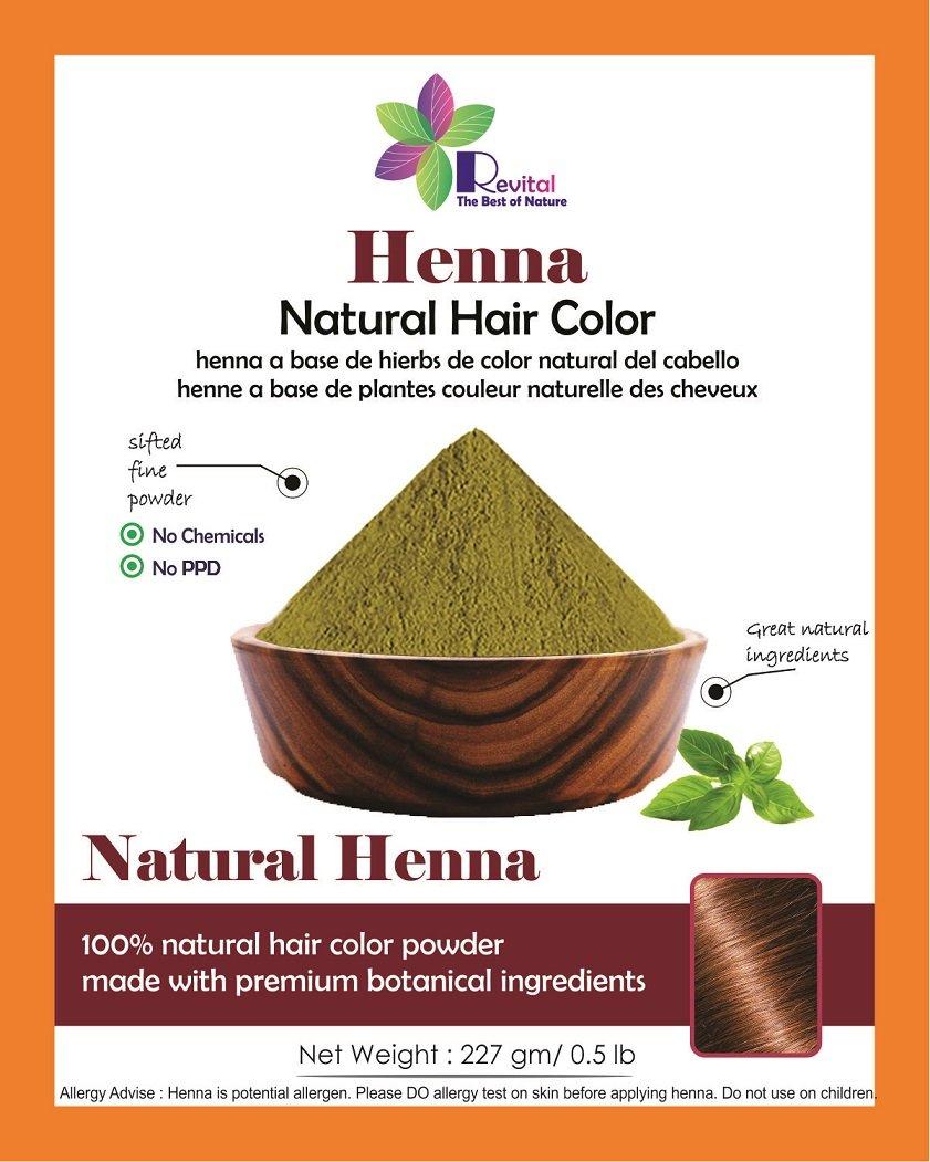 Amazon Revital 100 Pure Natural Henna Powder For Hair Dye