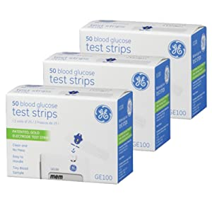 GE100 Test Strips 150 count